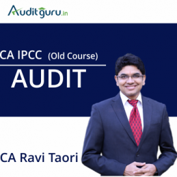 CA IPCC Audit Old Course