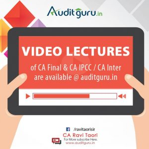 Auditguru Video Lectures