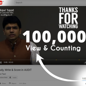 Auditguru You Tube Views
