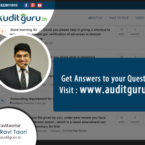 Auditguru Discussion Point