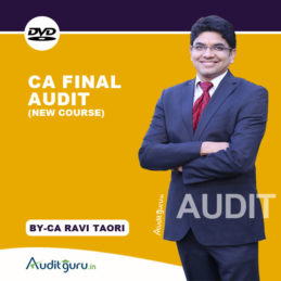 CA final Audit NEW DVD