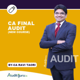 CA final Audit NEW PEN DRIVE