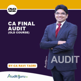 CA final Audit OLD DVD