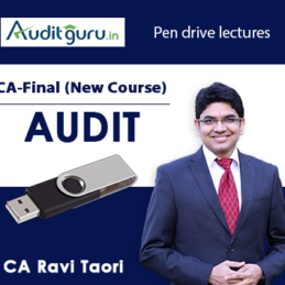 Pen drive lectures New Audit
