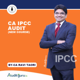 CA IPCC Audit NEW PEN DWNLD